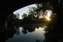 La Charente à Saint-Brice