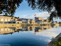 Cognac – Château et quais de la Charente